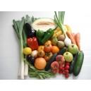 Caja de frutas y hortalizas