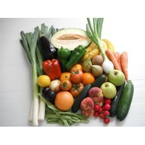 Cesta hortalizas y frutas 9.5 Kg